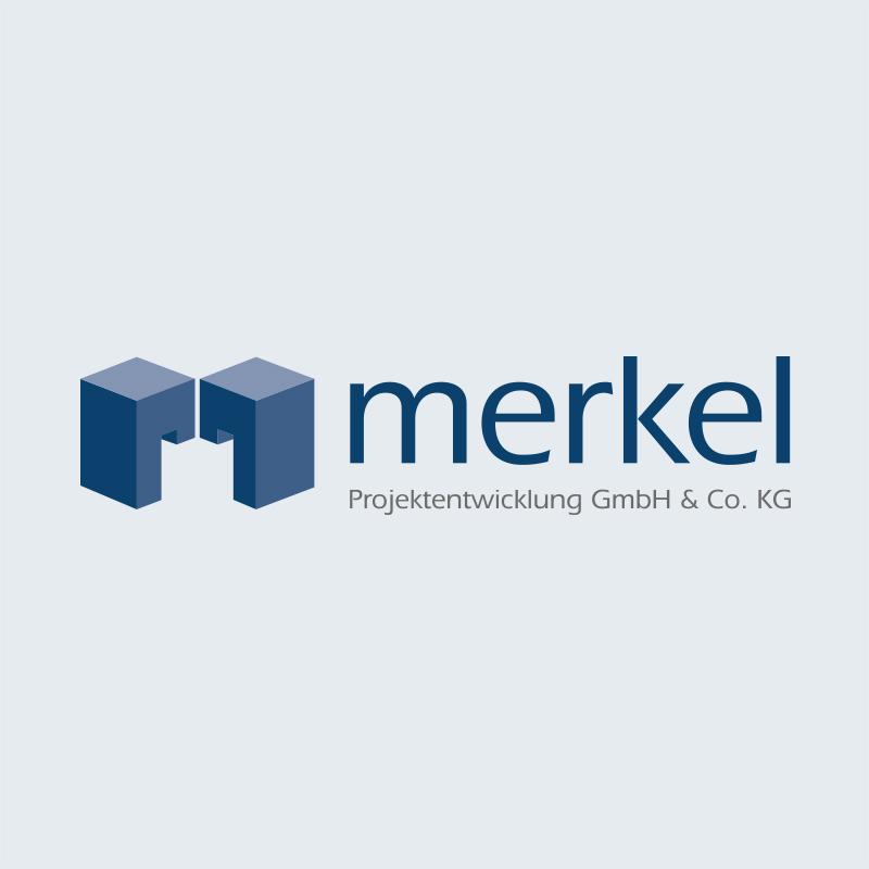 Merkel-Logokachel